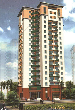 Nice Apartments Building For Rent In Hanoi Vietnam By